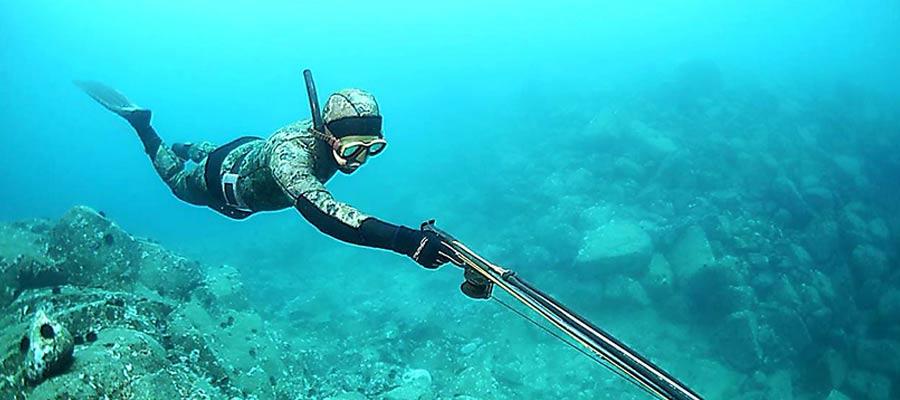 Подводная охота в Минске
